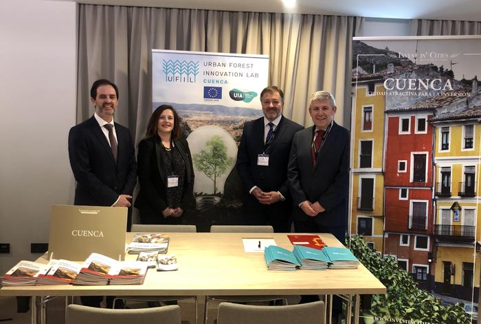 Cuenca presenta el proyecto ante inversores y empresas nacionales en el foro Invest in Cities celebrado en Madrid el 12 de diciembre