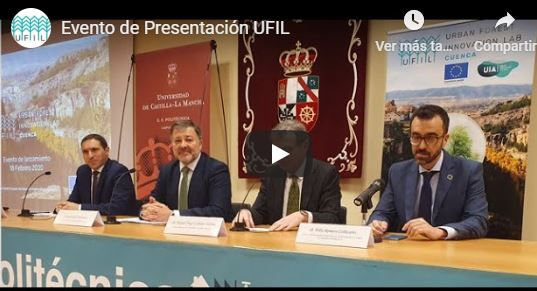 Vídeo presentación Urban Forest Innovation Lab, 18 de febrero 2020
