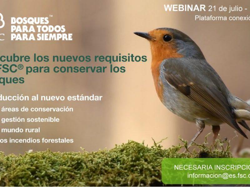 FSC organiza un webinar gratuito para conocer cómo sus nuevos estándares ayudarán más a los bosques y el mundo rural