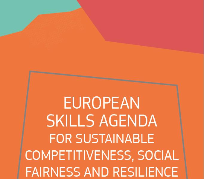 Capacidades para el empleo en una economía verde y digital. El 1 de julio la Comisión ha presentado la Agenda Europea de competencias profesionales para la sostenibilidad, la justicia social y la resilencia.