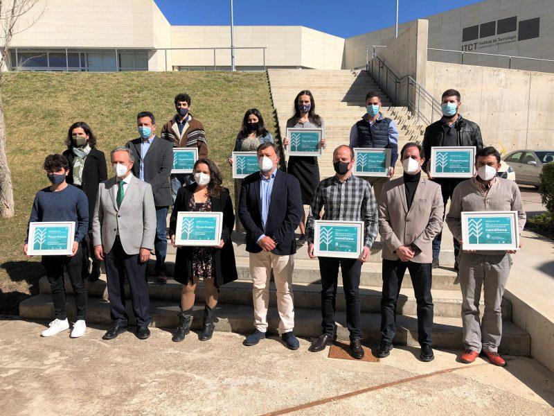 Entrega de premios UFIL patrocinados por Ayuntamiento de Cuenca, ACMSA y Globalcaja