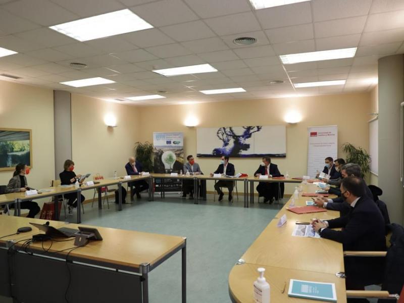 UFIL Cuenca recibe la visita de los representantes del Alto Comisionado para España Nación Emprendedora